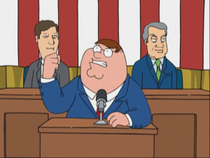 Mr. Griffin Goes to Washington - Family Guy Wiki