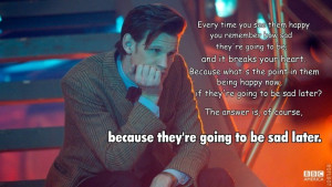 Doctor Who Quotes About Time Favorite dr. who quotes.