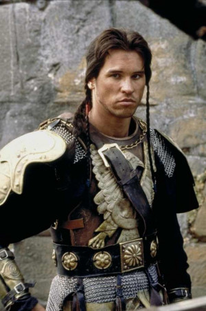 Val Kilmer as Madmartigan in Willow, which I have never seen, but I ...