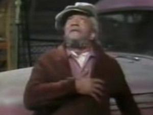Fred Sanford ain't got nothing on Easy John Edwards though.