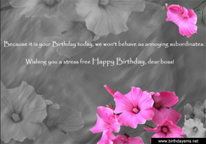birthday quotes for bosses If you can't think of what to write in your ...