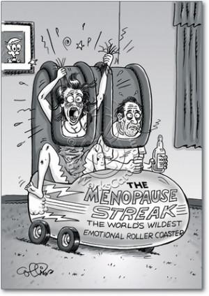 Menopause Streak Inappropriate Humorous Birthday Paper Card Nobleworks