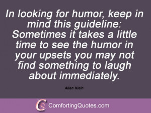 Sayings By Allen Klein