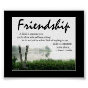 Friendship Quotes Posters