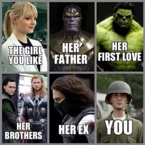 SuperHero Marvel Comincs Love Story