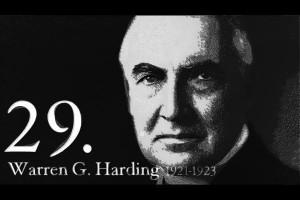 Great Warren G Harding