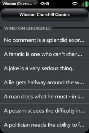 Churchill Quotes