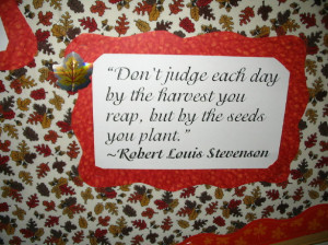Fall Quotes for Bulletin Boards