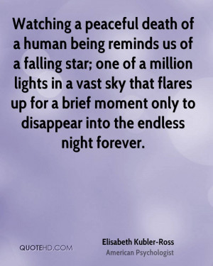 Elisabeth Kubler-Ross Death Quotes