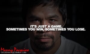 10 Famous Quotes by Manny Pacquiao That Will Make You Adore Him More