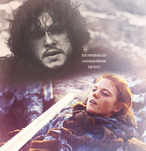 Jon Snow and Ygritte Jon & Ygritte