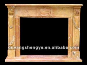 wood burning stove fireplace mantel