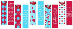 Free Printable Dr Seuss Quote Bookmarks + 30 Dr Suess Quotes: Dr Seuss ...