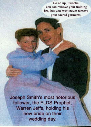Warren Jeffs is currently serving a life sentence in Texas