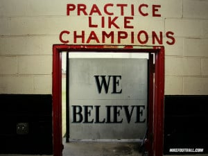 Wallpapers Nike Quotes Nfl Football Motivational We Believe Practice ...