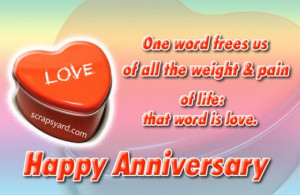 Go Back > Gallery For > Happy Anniversary My Love Quotes