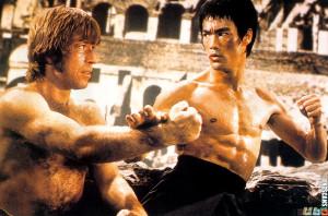 Bruce Lee vs Chuck Norris Men Quotes