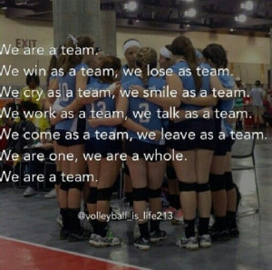 volleyball team quotes quotes picture volleyball was volleyball team ...