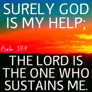 Surely God Is My HELP;