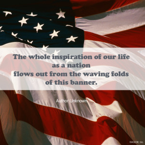 """... , please click on """" New Eyes for Old Glory."""" Celebrate Flag Day"""