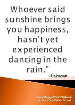 dance in the rain # quote i love gloomy weather the best