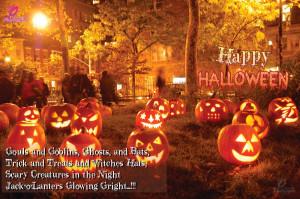 Halloween Sayings Background