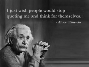 Albert Einstein's Real Wish #humor From my new Lost quotes of famous ...