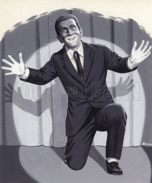 Al Jolson picture image illustration