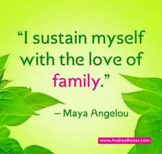 Holding Hands Family Quotes Angelou quote about family