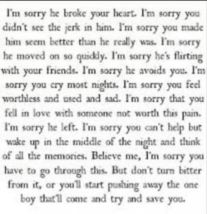 cute, im sorry, love, pretty, quote, quotes