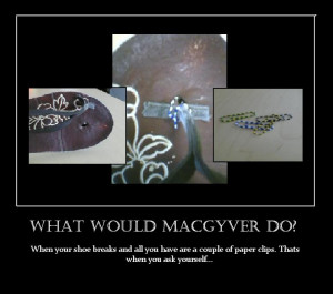 What Would Macgyver Kwasfield