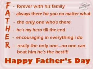 Happy Father's Day Quotes, Messages, Sayings & Cards 2015