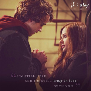 Adam If I Stay Quotes