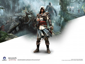 Assassins Creed 4 Game Wallpaper