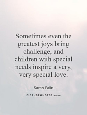 Quotes About Children with Special Needs