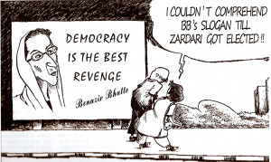 When BB said 'Democracy is the best revenge' we were never certain ...