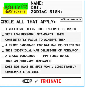 Employee Review Template. Free 2 use.