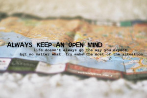open mind keeping an open heart is just as important