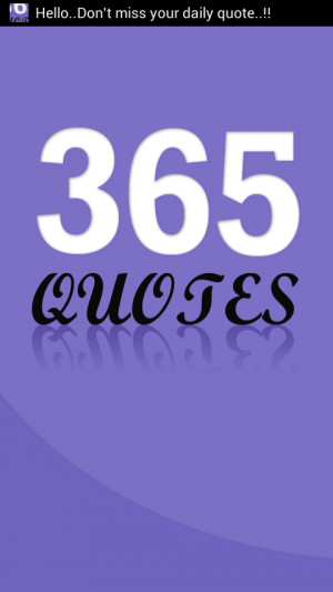 365 Daily Quotes - screenshot