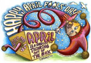 April Fools Day Scraps