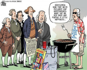 Funny 4th of July Cartoons