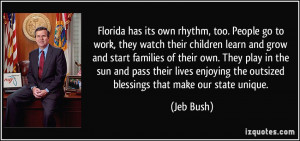 too. People go to work, they watch their children learn and grow ...