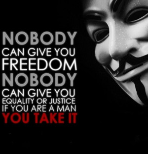 for Vendetta quote.