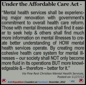 Mental Health...has to be addressed