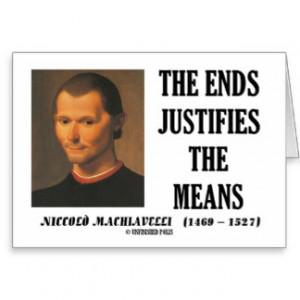 Machiavelli Quotes Cards & More