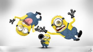 Funny Minions HD Wallpaper #5337