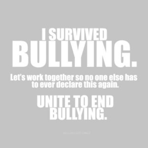 Know What It's Like To Be Bullied And Teased Every Day