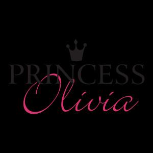 Custom Princess Olivia Wall Quotes™ Decal