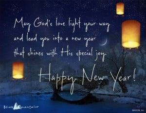 Happy New Year Blessing