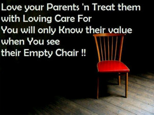 Love and Honor your Parents